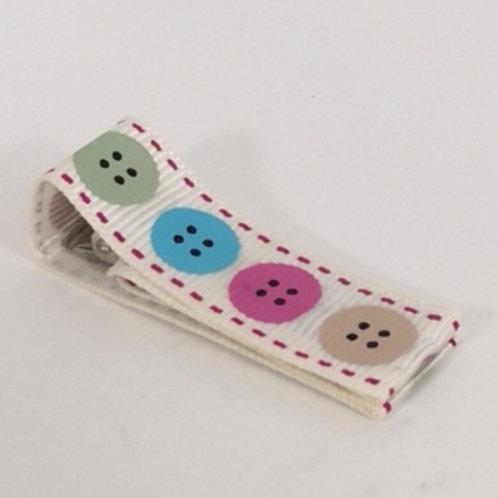 Large Button clip