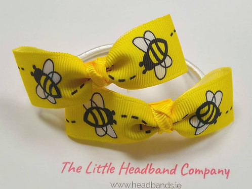 Buzzy Bee Hair Ties