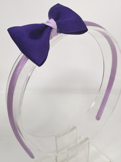 Satin Bow Headband