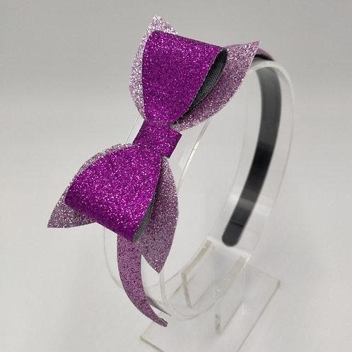 Luna Glitter Bow Headband