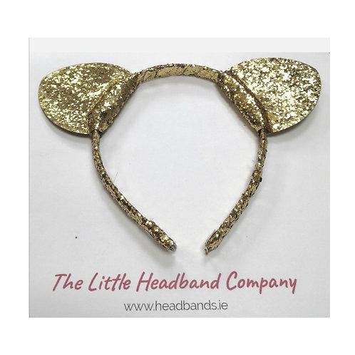 Glitter Gold Headband