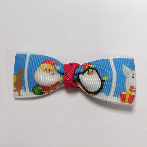 Santa & Penguin Alligator Clip