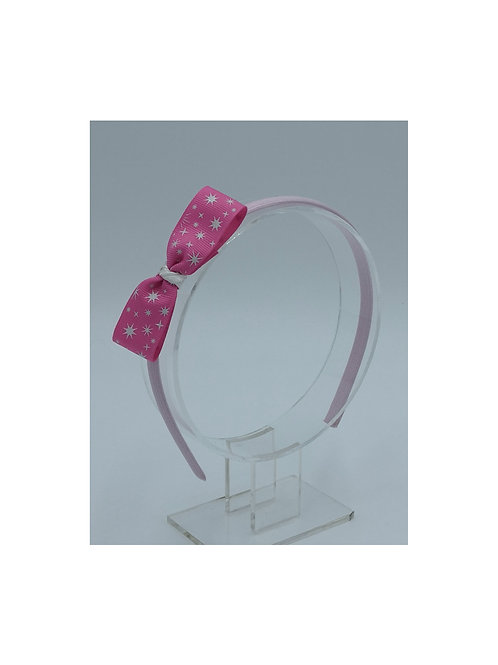 Pink Sparkles Headband