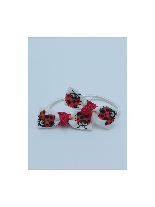 Ladybird Hair Ties