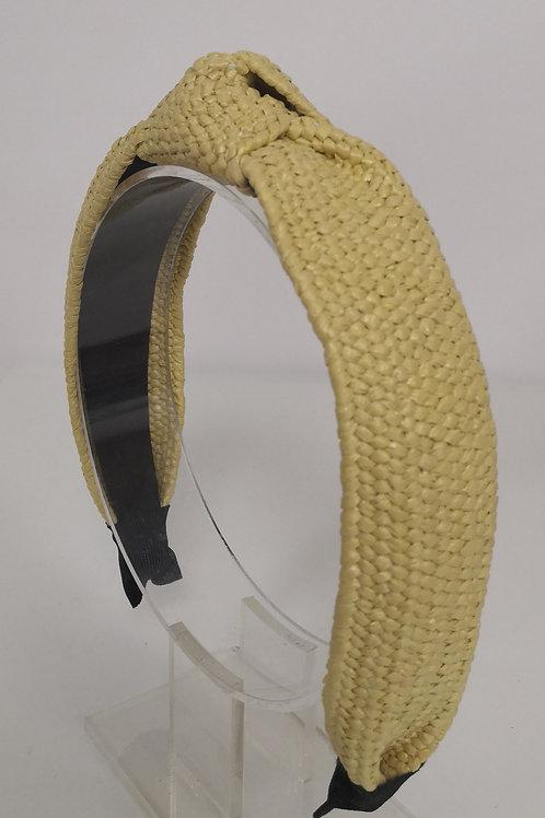 Raffia Natural Headband