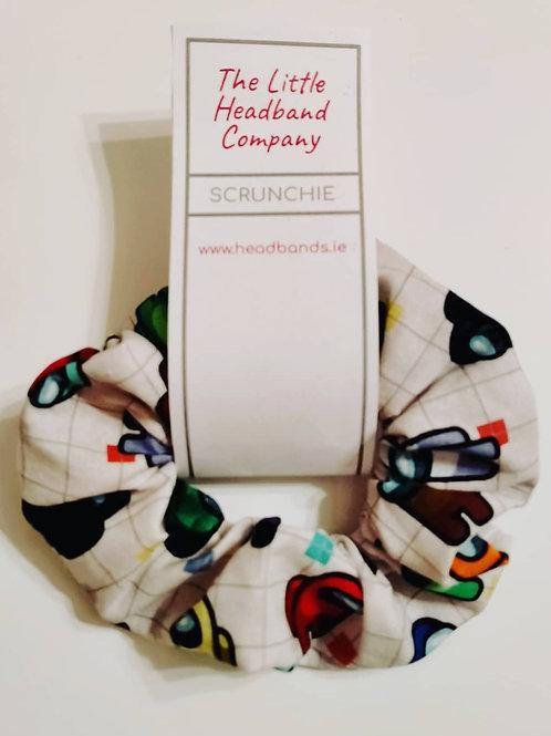 Among Us Scrunchie White