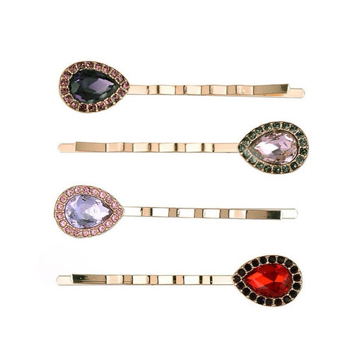 Diamante Vintage Inspired Clips