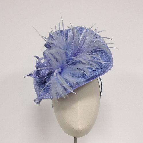 Lilac Feather Headpiece