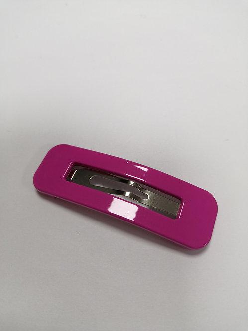 Large Snap Clip - Deep Pink