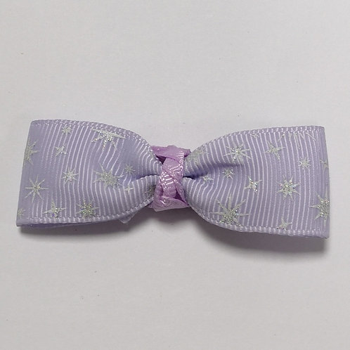 Glittery Lilac Bow