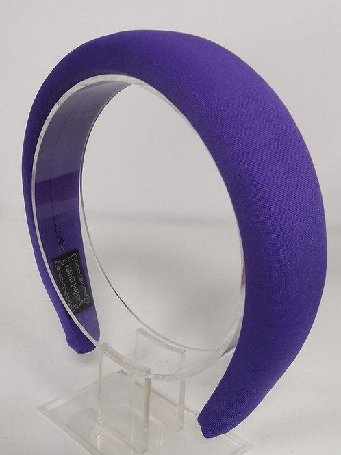 Purple Padded Headband