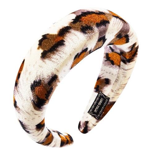 Animal Print Velvet Headband