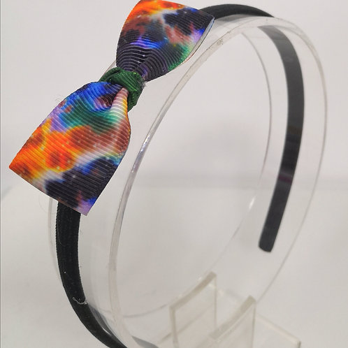 Galaxy Orange Headband & Hair Ties Set