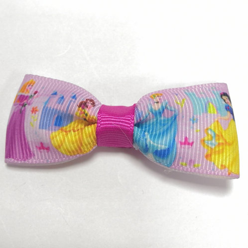 Princess Bow Alligator Clip