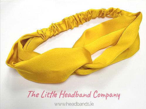 Satin Twisted Headwrap