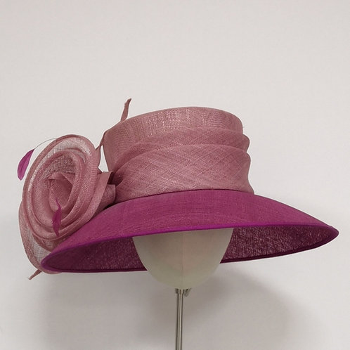 Two tone Pink Hat