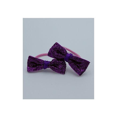 Glittery Hair Ties