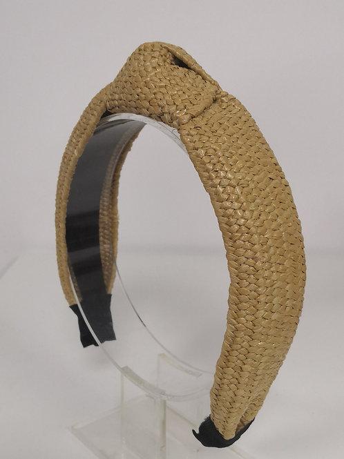 Raffia Carmel Headband