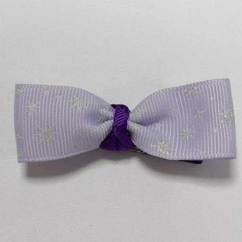 Glittery Lilac Bow