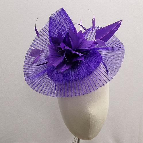 Purple Crin Headpiece