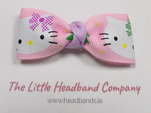 Hello Kitty Bow Clip