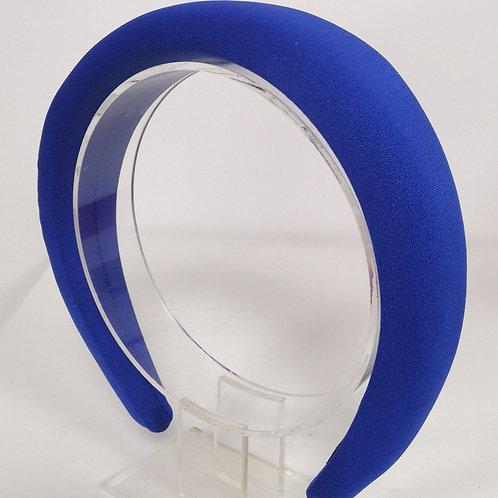 Sapphire Blue Padded Headband