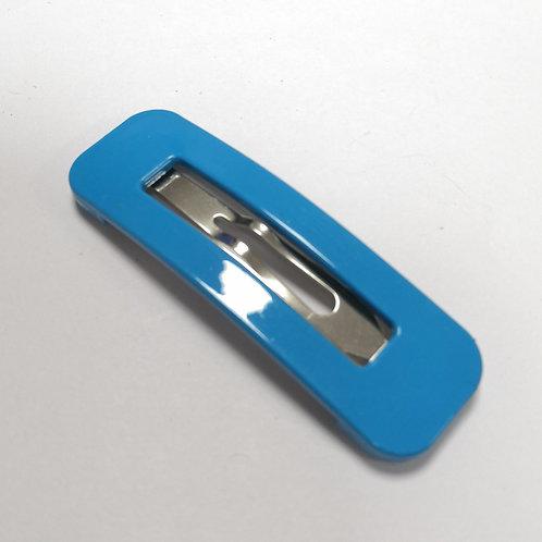 Large Snap Clip - Blue