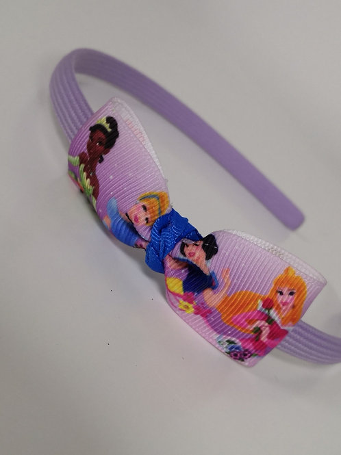 Tiana, Cinderella, Snow-white & Aurora Headband