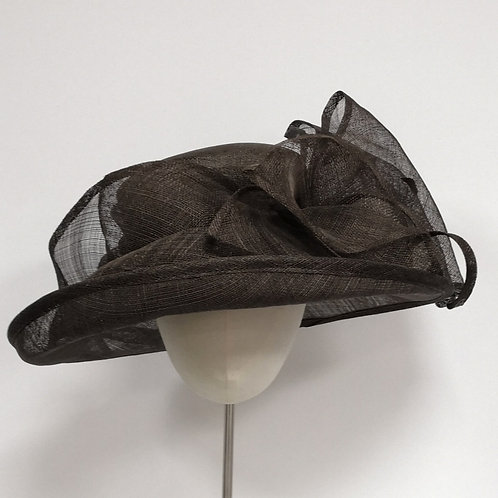 Brown BIg Bow Hat