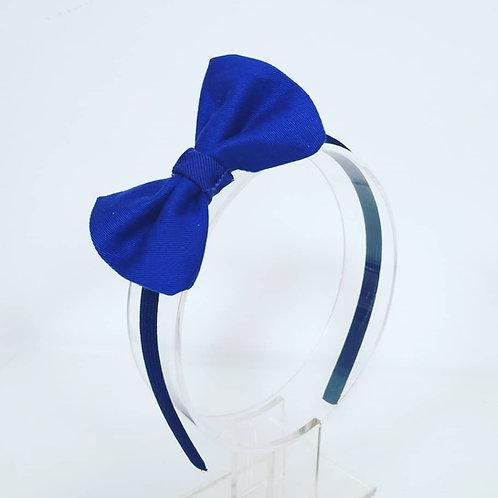 Royal Blue Organic Cotton Headband