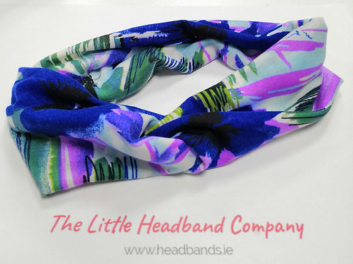 Summer Twisted Headband
