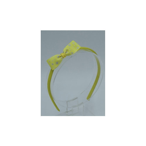 Yellow Glittery Headband