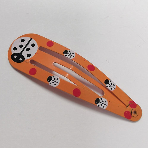 Ladybird Snap Clip - Orange