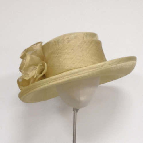 Jacques Vert Sinamay Hat with Pearl Effect