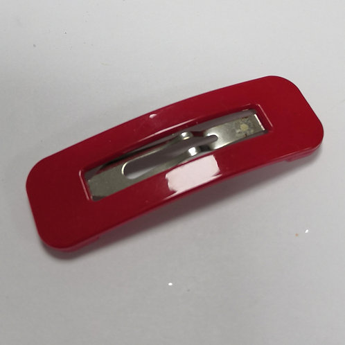 Large Snap Clip - Red