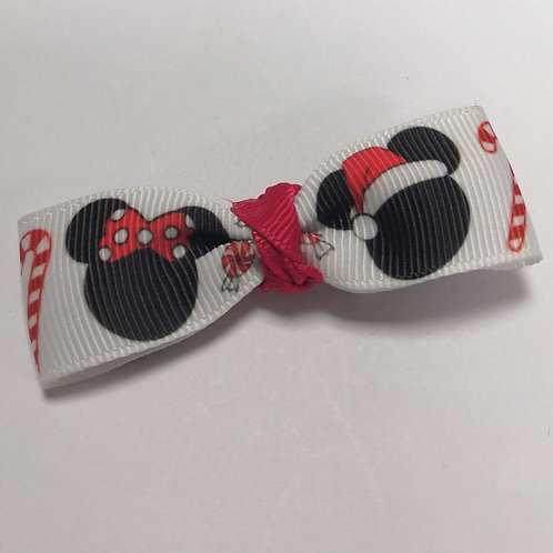 Minnie Mouse Bow Alligator Clip