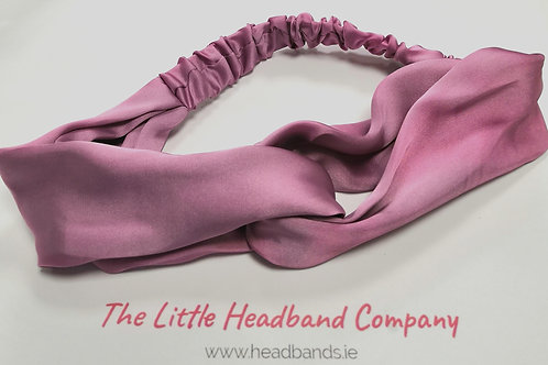 Satin Twisted Headwrap