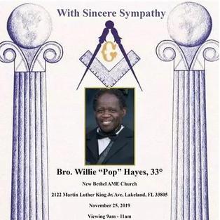Willie Pop Hayes
