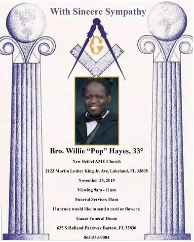Willie Pop Hayes