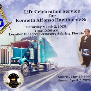 Kenneth Hawthorn Sr