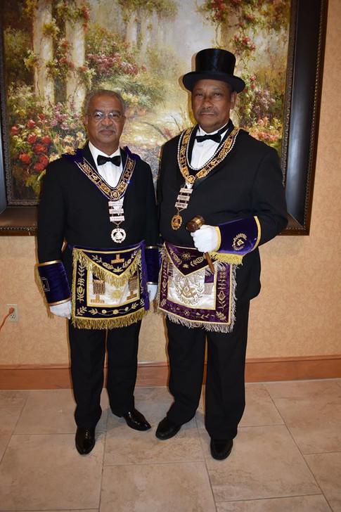President Paige & Grand Master  Parker.j