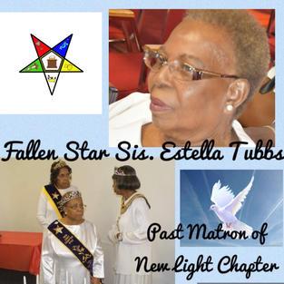 Sis Estella Tubbs
