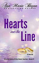 Hearts over the Line by Ann Marie Bryan