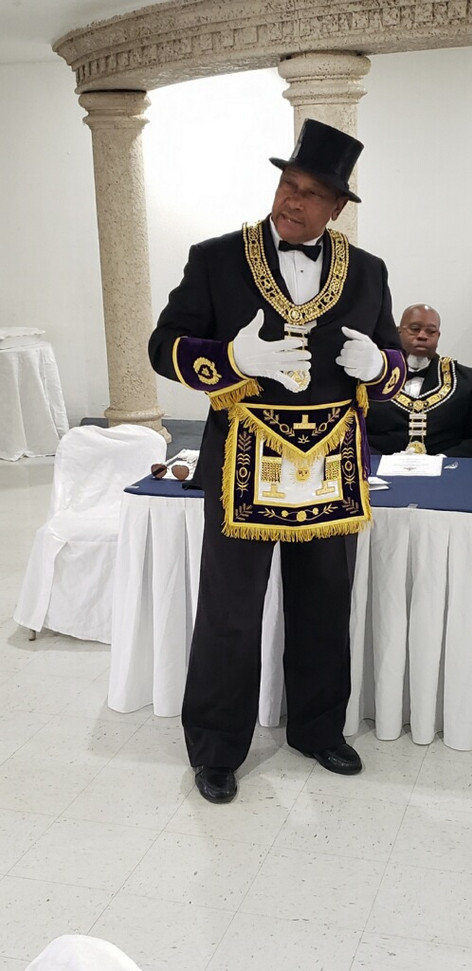 Grand Master James A. Parker of The Most