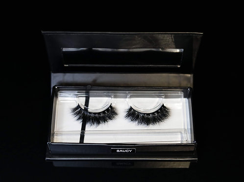 'SAUCY' Mink Strip Lash Cruelty-free