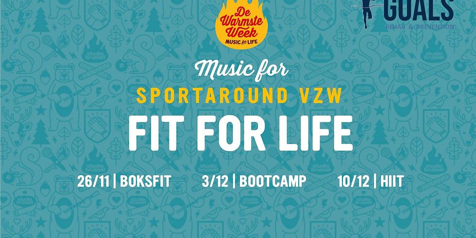 BOKSFIT for Sportaround vzw