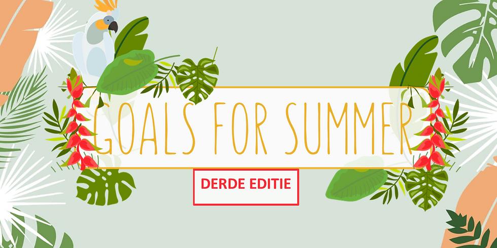 WORKOUT & BRUNCH   GOALS FOR SUMMER