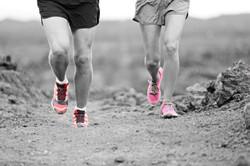 runners-knee zwart wit