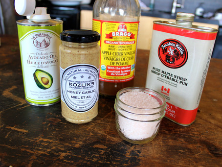 Recipe: Maple Syrup Dressing