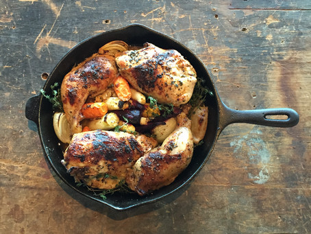 Recipe: Lemon Thyme Chicken